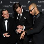 Audemars Piguet's CEO Philippe Merk, Tom Brady and Swizz Beatz attend Royal Oak 40 Years: From Avant-Garde to Icon at Park Avenue Armory 111228