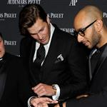 Audemars Piguet's CEO Philippe Merk, Tom Brady and Swizz Beatz attend Royal Oak 40 Years: From Avant-Garde to Icon at Park Avenue Armory 111229