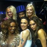 Russell Brand and The Spice Girls at the London 2012 Olympic Closing Ceremony 124316