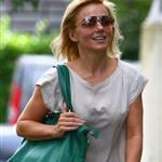 Geri Halliwell heads to a meeting in London 124318
