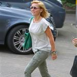 Geri Halliwell heads to a meeting in London 124319