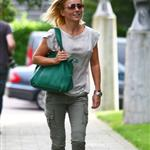 Geri Halliwell heads to a meeting in London 124322
