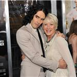 Russell Brand and Helen Mirren at the premiere of Arthur  82820