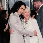 Russell Brand and Helen Mirren at the premiere of Arthur  82821