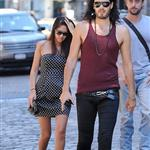Russell Brand out and about in Soho 43217