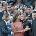 Angelina Jolie receives award from Sarajevo Film Festival with Brad Pitt by her side 90989