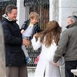 Brad Pitt Angelina Jolie in Venice for Oscar weekend and kids party 56460