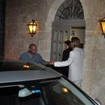 Brad Pitt and Angelina Jolie at a romantic dinner in Malta where he used to go with Jennifer Aniston  88178