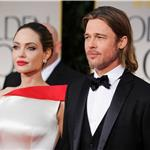 Brad Pitt and Angelina Jolie at the 2012 Golden Globe Awards     103102