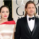 Brad Pitt and Angelina Jolie at the 2012 Golden Globe Awards     103105
