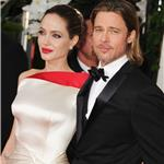 Brad Pitt and Angelina Jolie at the 2012 Golden Globe Awards     103104