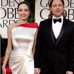 Brad Pitt and Angelina Jolie at the 2012 Golden Globe Awards     103108