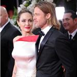 Brad Pitt and Angelina Jolie at the 2012 Golden Globe Awards     103115