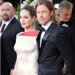 Brad Pitt and Angelina Jolie at the 2012 Golden Globe Awards     103118