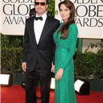 Angelina Jolie and Brad Pitt at the Golden Globes 2011 77007