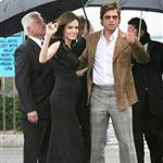 Brad Pitt and Angelina Jolie at the Independent Spirit Awards in Feb 2008 29974
