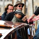 Brad Pitt and Angelina Jolie about and about with the kids in Venice 55822