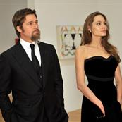 Brad Pitt and Angelina Jolie at the MOCA 30th Anniversary Gala the other night 50656