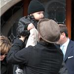 Brad Pitt Angelina Jolie take the twins out on day off 56730