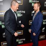 Bryan Cranston and Aaron Paul attend AMC's Breaking Bad Season 5 Premiere during Comic-Con 2012 120685