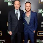 Bryan Cranston and Aaron Paul attend AMC's Breaking Bad Season 5 Premiere during Comic-Con 2012 120686