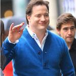 Brendan Fraser in New York October 2010  70008