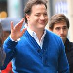 Brendan Fraser in New York October 2010  70009