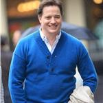 Brendan Fraser in New York October 2010  70012