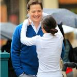 Brendan Fraser in New York October 2010  70014