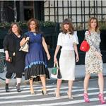 Kristen Wiig, Maya Rudolph, Rose Byrne, and Melissa McCarthy photo shoot for Bridesmaids 81687