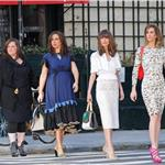 Kristen Wiig, Maya Rudolph, Rose Byrne, and Melissa McCarthy photo shoot for Bridesmaids 81689