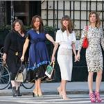 Kristen Wiig, Maya Rudolph, Rose Byrne, and Melissa McCarthy photo shoot for Bridesmaids 81690