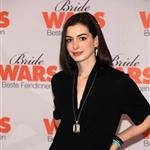 Anne Hathaway and Kate Hudson promote Bride Wars in Germany with red lips 30861