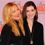 Anne Hathaway and Kate Hudson promote Bride Wars in Germany with red lips 30860