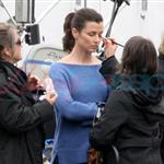 Bridget Moynihan on the set of Ramona and Beezus 39192