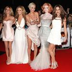Cheryl Cole and Girls Aloud at Brit Awards 2009 33088