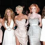 Cheryl Cole and Girls Aloud at Brit Awards 2009 33089