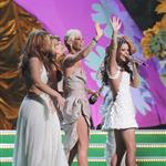 Cheryl Cole and Girls Aloud at Brit Awards 2009 33092