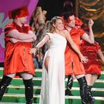 Kylie Minogue's many dress changes as she hosts the Brit Awards  33080