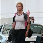 Britney Spears arrives in Australia for her first Australian tour with Circus 49983