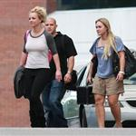 Britney Spears arrives in Australia for her first Australian tour with Circus 49986
