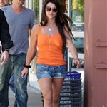Britney Spears newly brunette out and about with Jason Trawick 41965