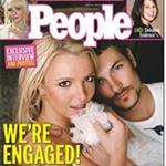 Britney Spears and Kevin Federline engagement photos in People Magazine  100823