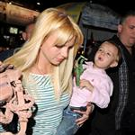 Britney Spears with her sons at Shrek in NYC 45618