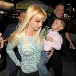 Britney Spears with her sons at Shrek in NYC 45619