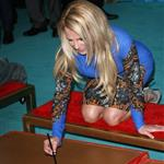 Britney Spears at The 'X Factor' Season Two Premiere Screening and Handprint Ceremony 126116