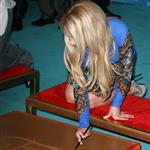 Britney Spears at The 'X Factor' Season Two Premiere Screening and Handprint Ceremony 126119