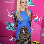 Britney Spears at The 'X Factor' Season Two Premiere Screening and Handprint Ceremony 126126