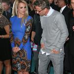 Britney Spears and fiance Jason Trawick at The 'X Factor' Season Two Premiere Screening and Handprint Ceremony 126129