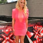 Britney Spears at the first day of X-Factor auditions 115569